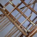 Загибание прутьев сиденья по шаблону